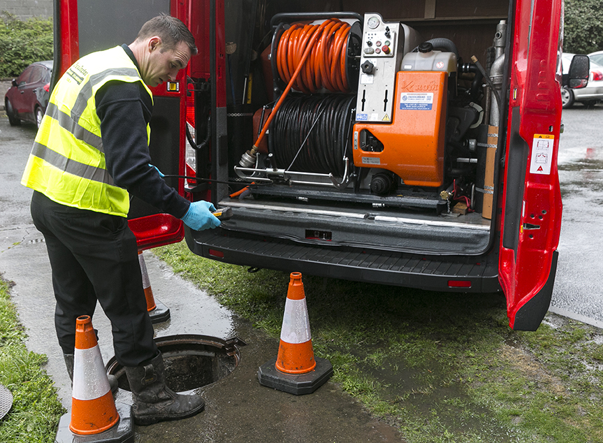 drainage cleaning by drain doctor